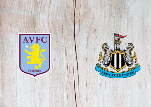 ASTON VILLA VS NEWCASTLE UNITED SOCCER HIGHLIGHTS  AND GOALS