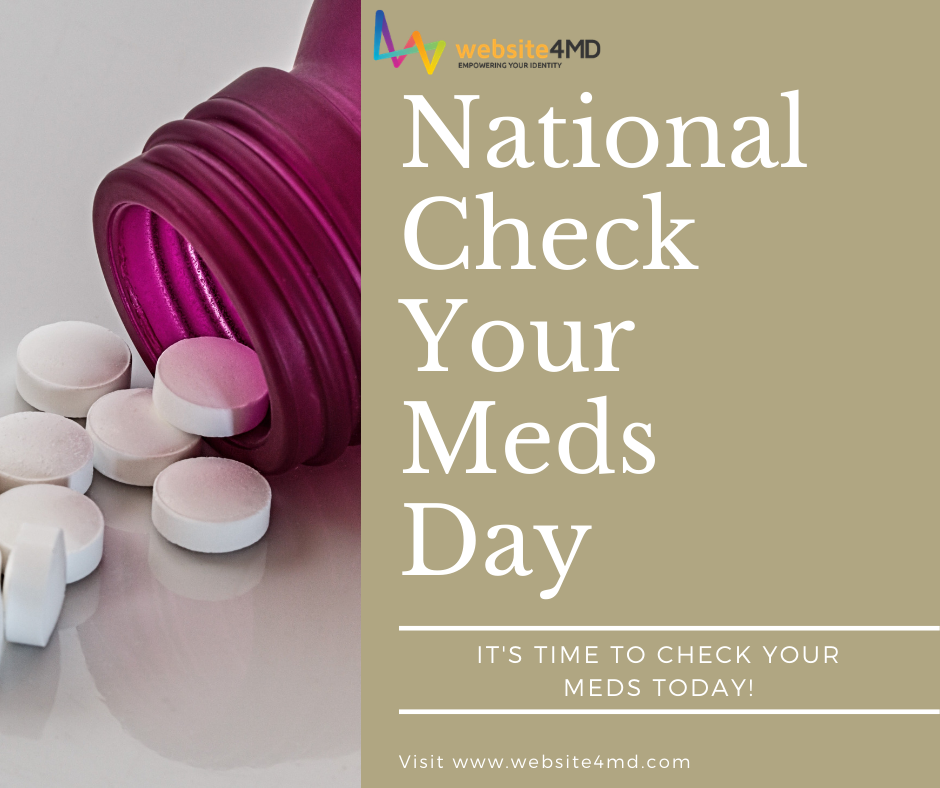 National Check Your Meds Day Wishes Awesome Images, Pictures, Photos, Wallpapers