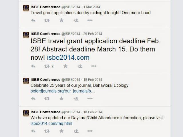 tweets conference
