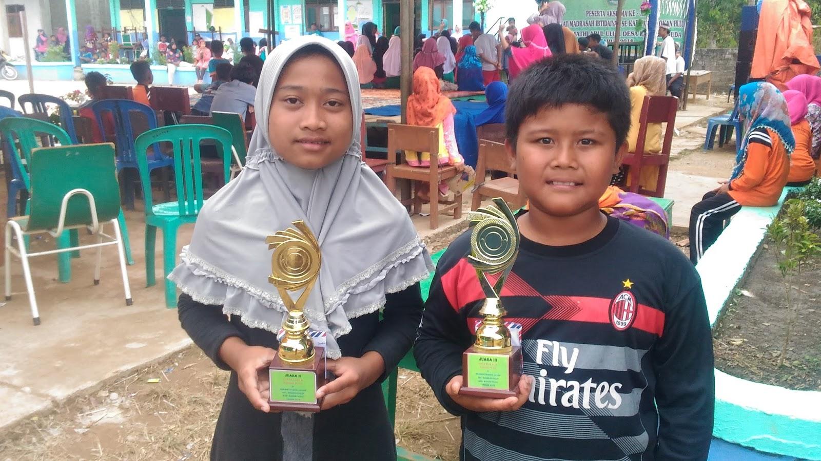 Piala Kejuaraan Aksioma MI Se-Kabupaten Rokan Hulu oleh MIS Nurul Huda