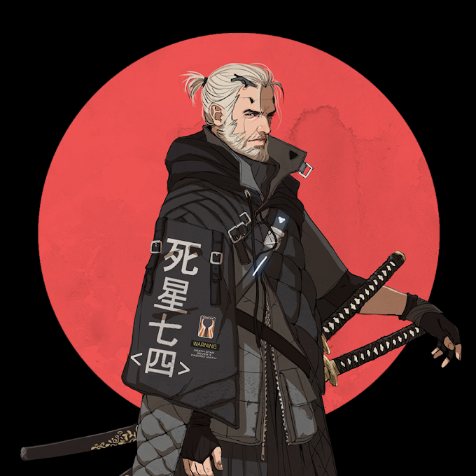 Animated Wallpaper The Witcher Cyberpunk