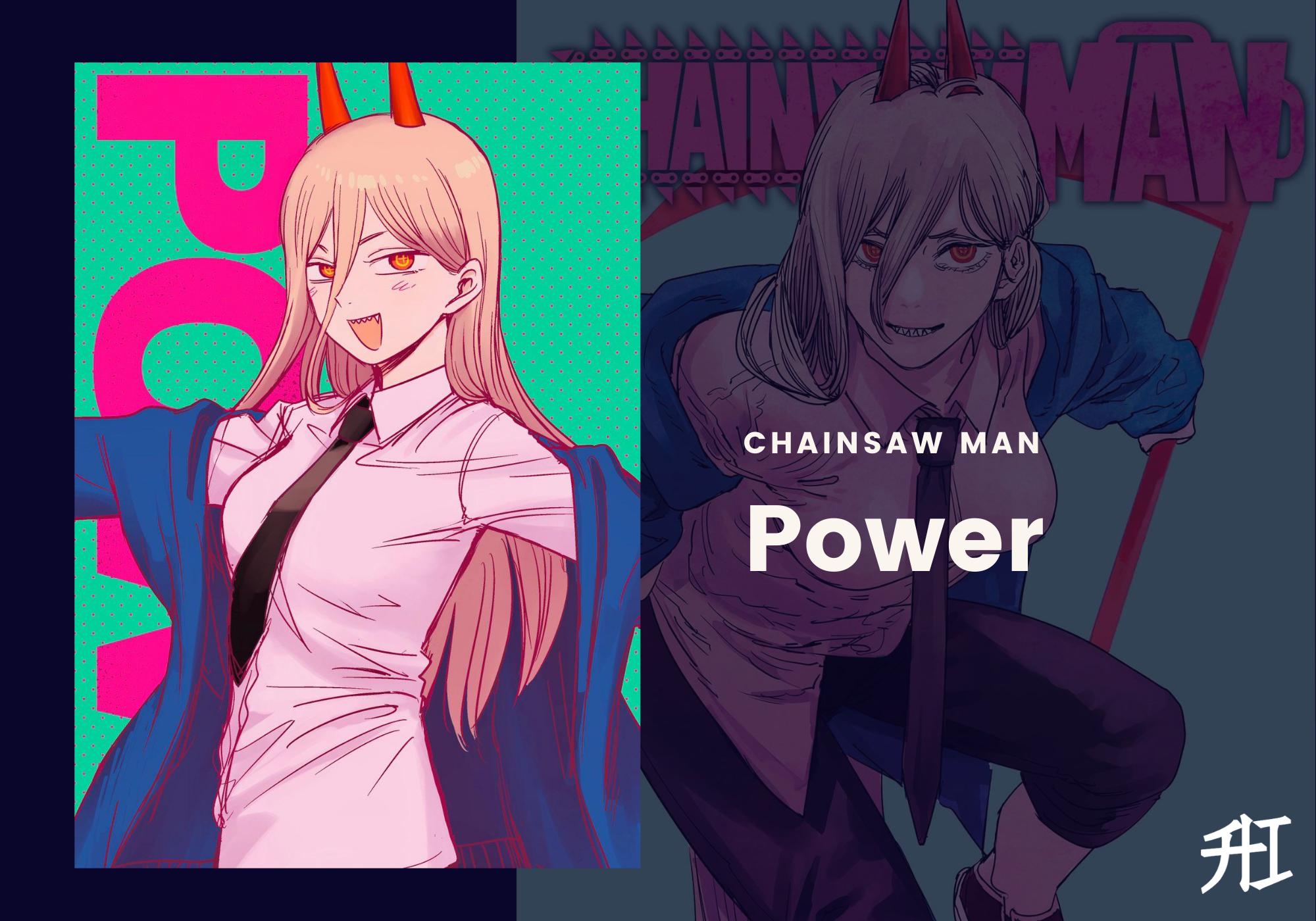 Power chainsaw man