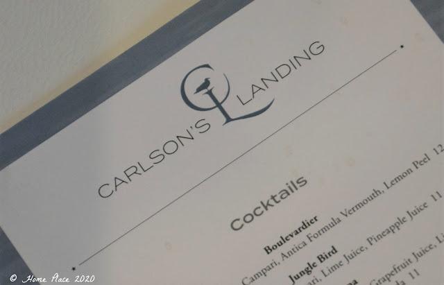 Carlson's Landing Cocktail Menu
