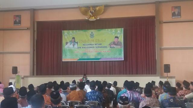 KH Ahmad Muwafiq Ceramah Halal Bi Halal di UIN Walisongo, Semarang (4/07/2017)