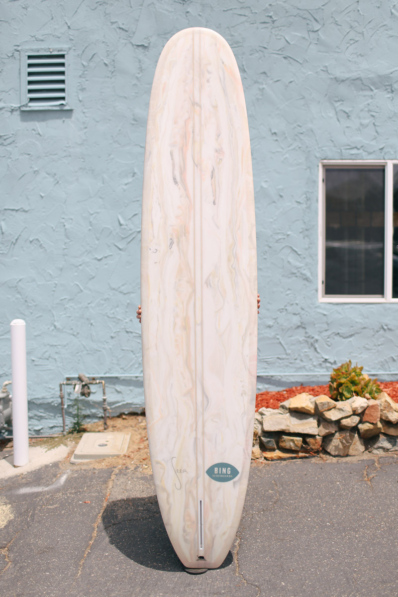 The Seea X Bing Surfboard Photo By Stone Crandall