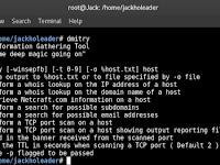 Cara Scan Website Dengan DMitry di Kali Linux | Information Gathering