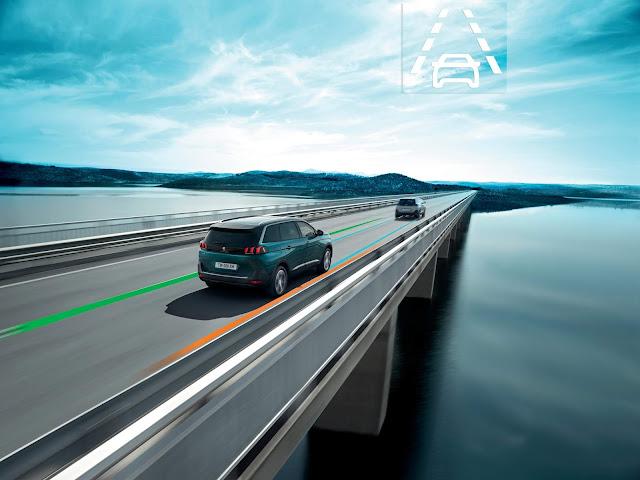Active Lane Departure Warning System (ALDWS) Peugeot 3008 & 5008 varian Allure Plus.