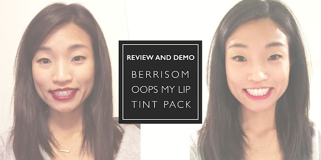 Jen Lee reviews and demos peel-off semi-permanent lip color from Memebox. The product is Berrisom Oops My Lip Tint Pack.