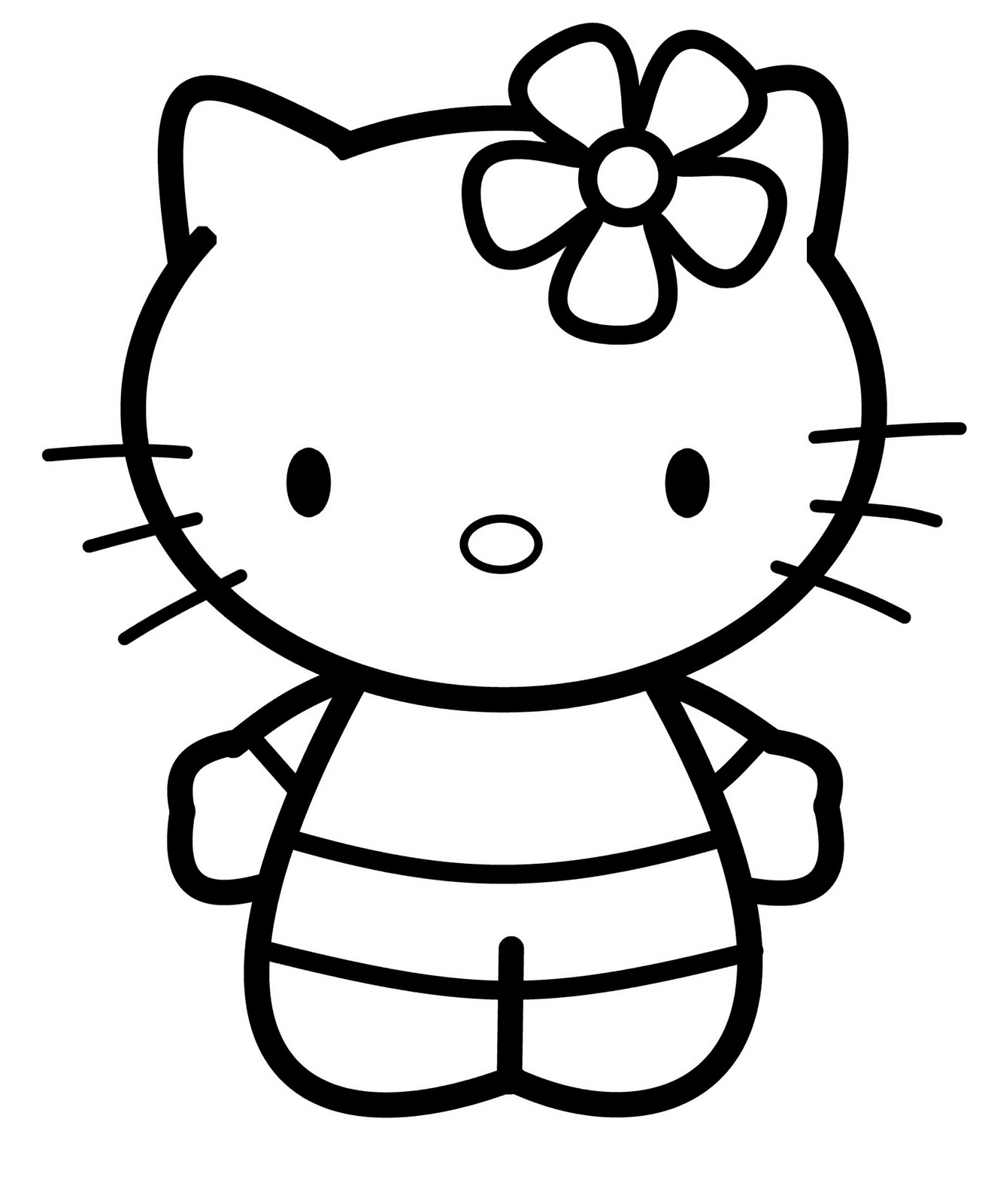 This is a photo of Smart Drawing Of Hello Kitty