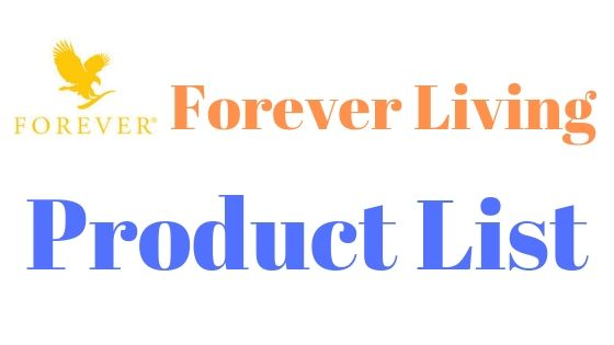 Forever Living Products Price List-2019 + Pdf Download