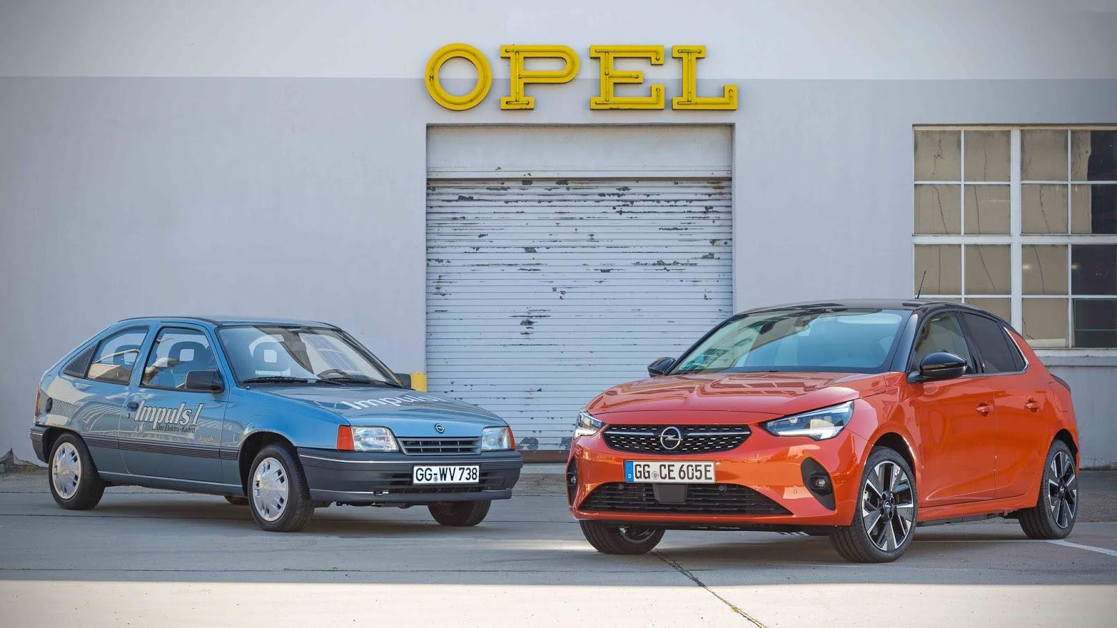 Nostalgie : Opel Kadett electrique contre Corsa e   frenchtouch2