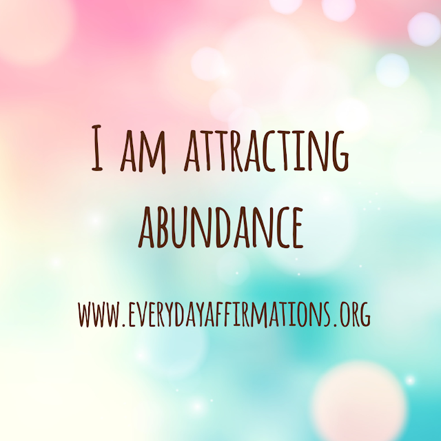 Daily Affirmations - 6 October 2019, Affirmations for Prosperity, Affirmations for Self Improvement, Affirmations for Wealth