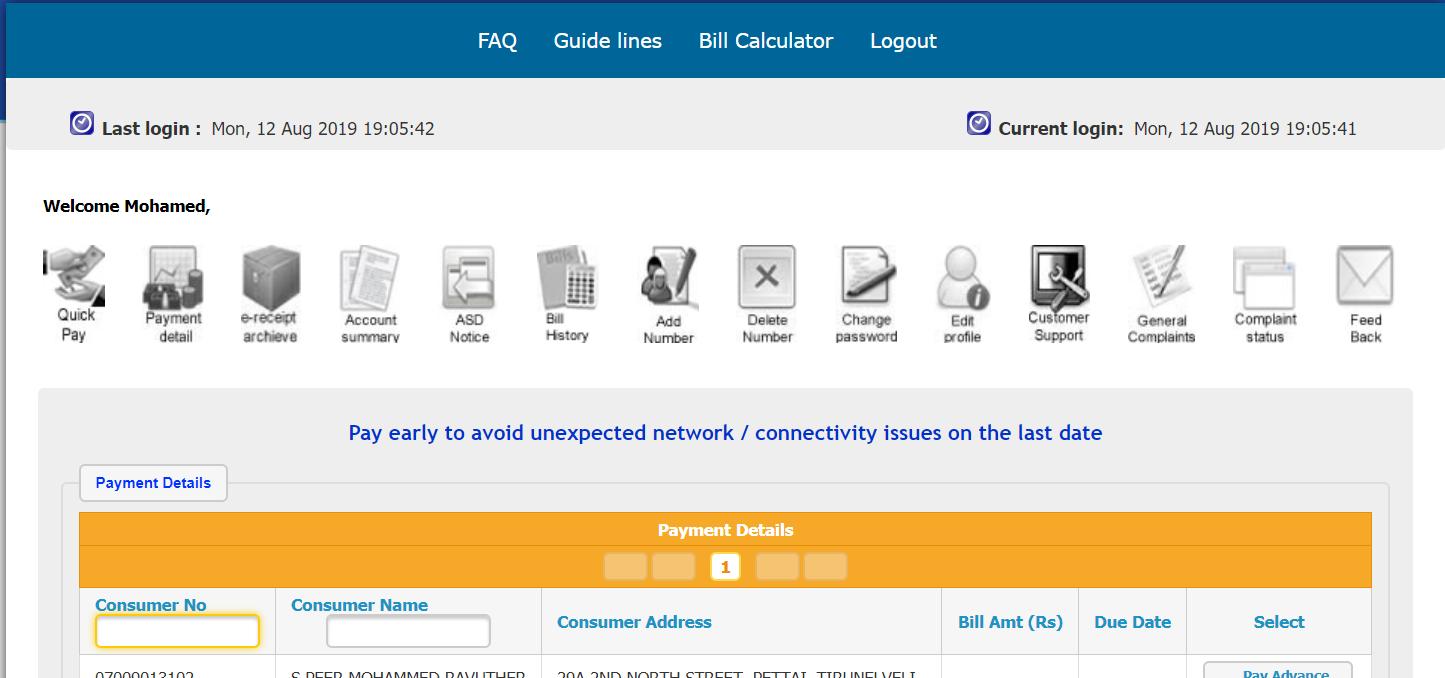 Tneb Bill Calculator Tamil Nadu Eb Bill Payment Details