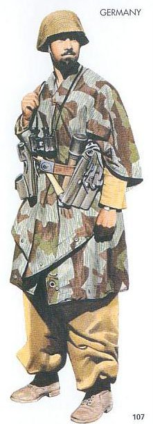 Military Uniforms of World War II: WWII German forces ...