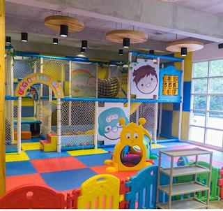 Ini playgroundanya (Foto : IG @Fatbubble_ind)
