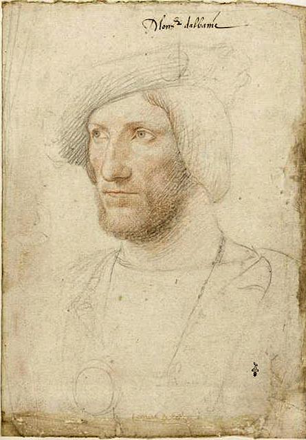Jean Clouet (1475/85-1541) Jean Stuart, duc d'Albany, comte de La Marche Musée Condé de Chantilly