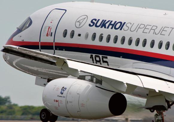 Sukhoi Superjet 100 specs