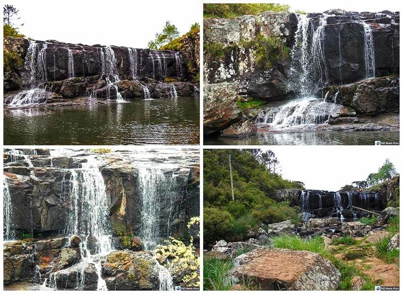 Um dia na Serra do Rio do Rastro em Santa Catarina - Cascata da Barrinha