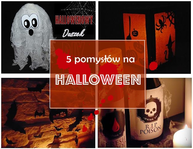 5 POMYSŁÓW na Halloween