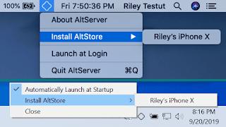 Install AltStore