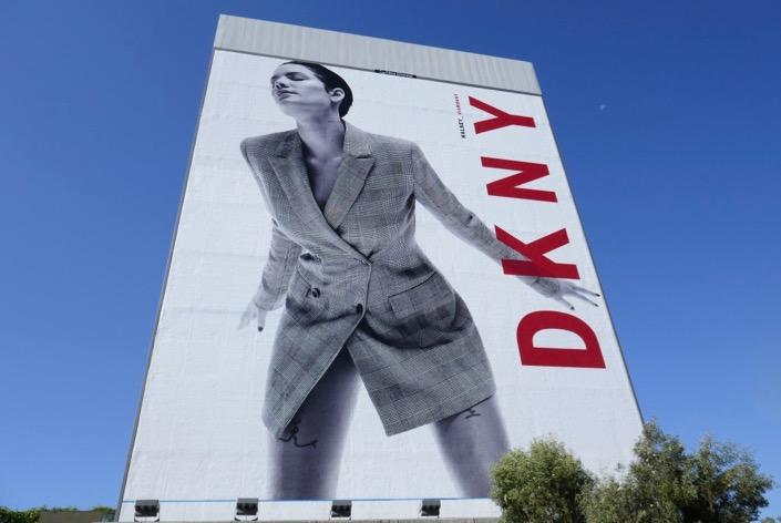 Giant Halsey DKNY billboard