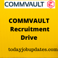 Commvault Recruiting Drive