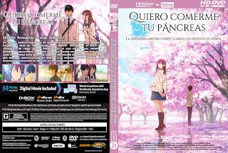 QUIERO COMERME TU PANCREAS – KIMI NO SUIZO WO TABETAI – 2018 [COVER – DVD]