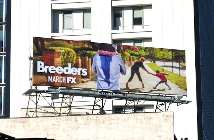 Breeders series teaser billboard