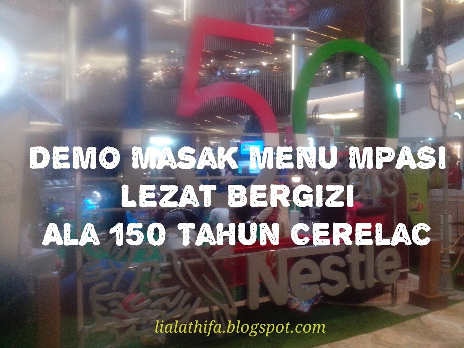 Demo Masak Menu MPASI Lezat Bergizi Ala 150 Tahun Cerelac