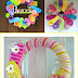 DIY DollarTree Flip Flop Summer Wreath