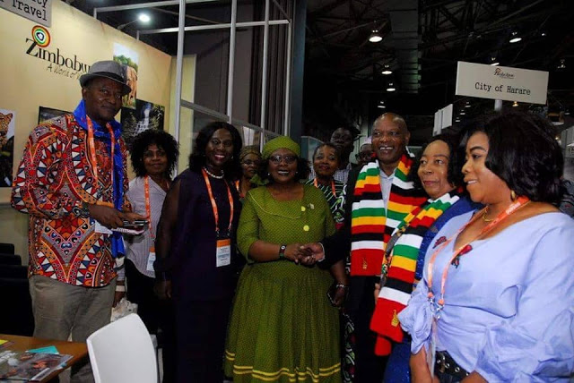 Photos: Women In Tourism, Ghana Tour South Africa Ahead Of Indaba