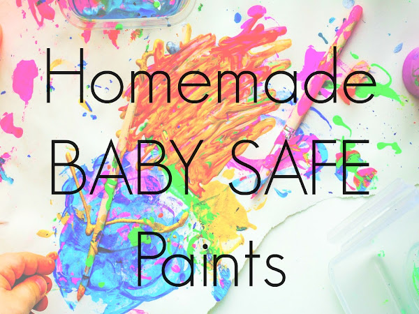 Homemade Baby Safe Paints