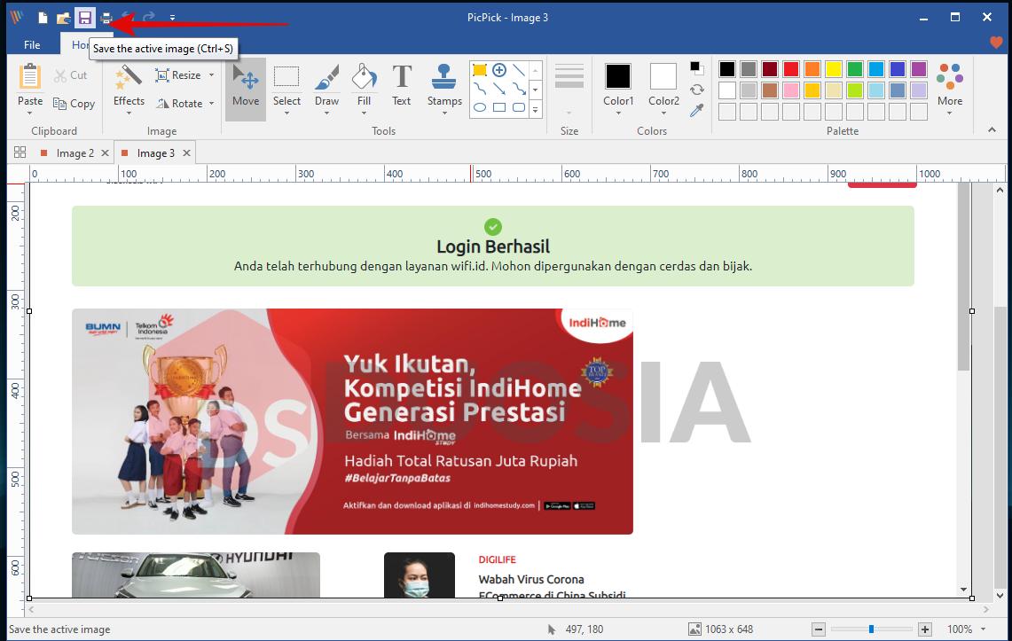 cara screenshot laptop windows 10 terbaru
