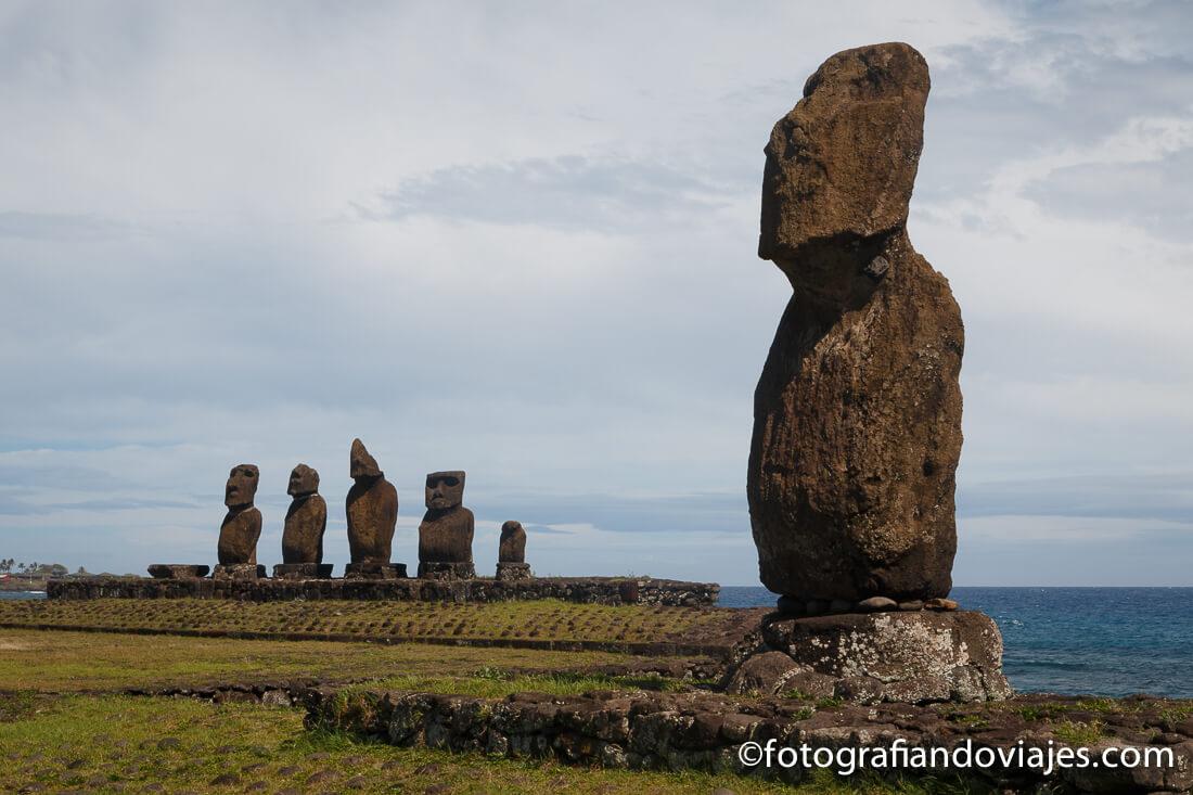Ahu Tahai en Isla de Pascua