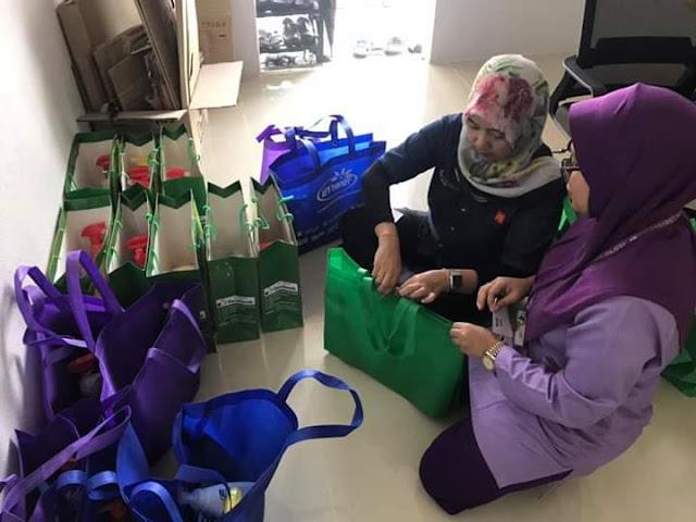 Aktiviti Wangikan Rumah Ronald McDonald HUSM Bersama Team AFY Haniff