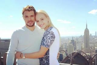 Garbine Muruguzas Boyfriend Stan Wawrinka With Ex Girlfrined Donna Vekic