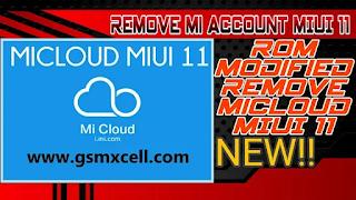 Remove Micloud MIUI 11