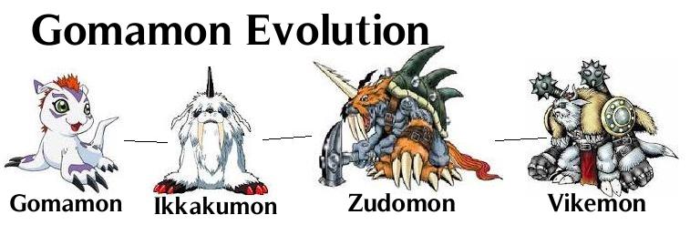 digimon gomamon evolution - photo #2