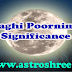 Maghi Poornima Significance