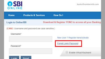 Log in to SBI Internet Banking