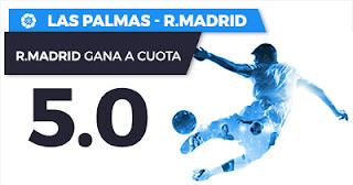 Paston Megacuota Liga Santander: Las Palmas vs Real Madrid 31 marzo