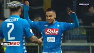 شاهد هدف آدم وناس ضد بارما في الدوري الايطالي 24-02-2019