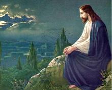 JESUS ENSEÑANOS A REZAR