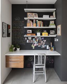 Lavorare in casa: usa la parete come lavagna immagine
