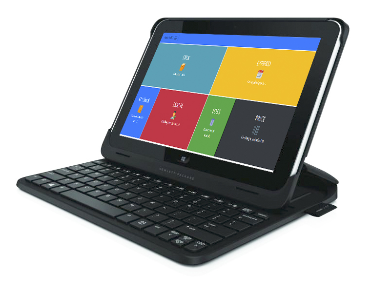 Mesin kasir portable tablet pos