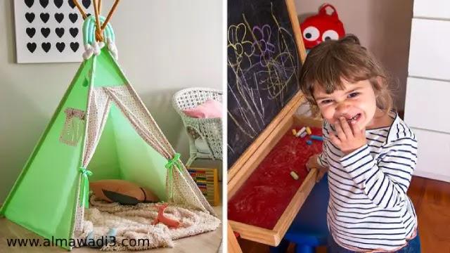عدم ترك مجال لإبداع الأطفال وذوقهم الشخصي