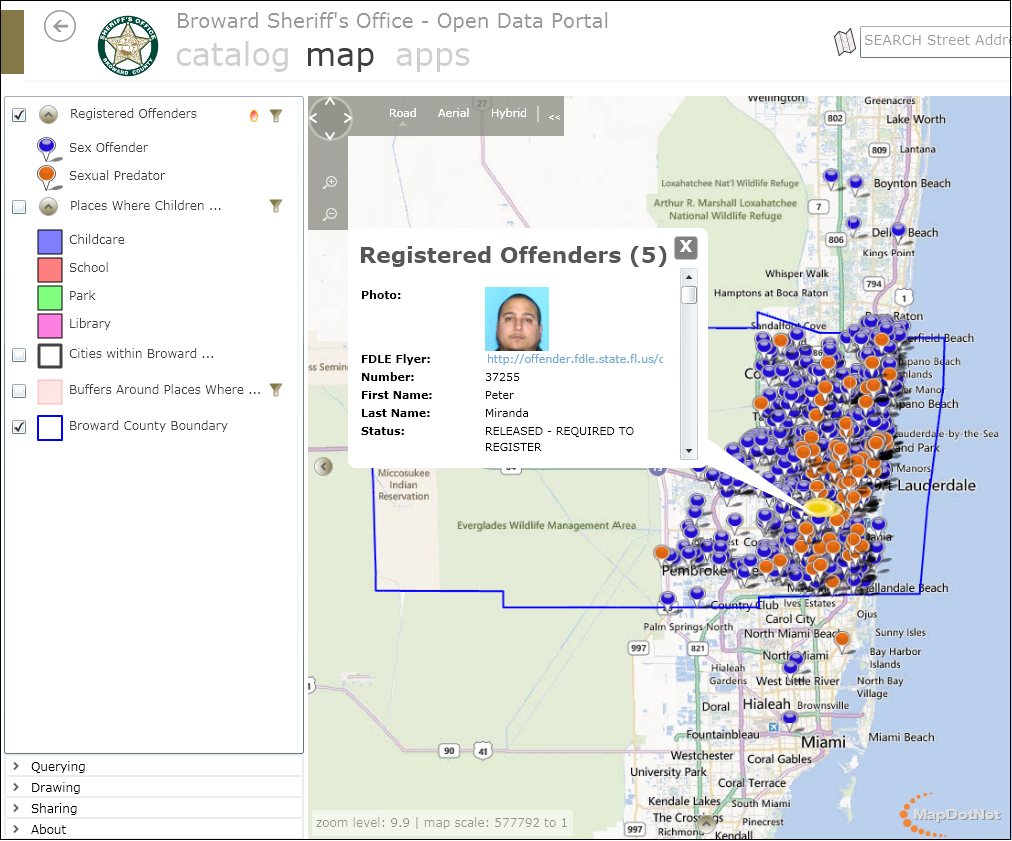Do you have to be notified when a registered sex offender moves to your neighborhood?