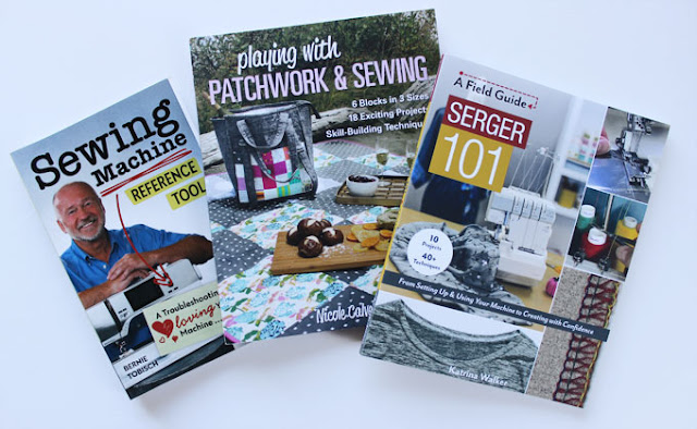 three sewing books