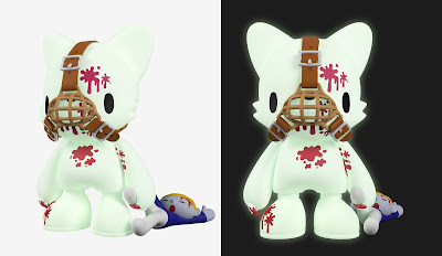 "Gruesome Glow Gloomy SuperJanky 8"" Glow in the Dark Vinyl Figure by Mori Chack x Superplastic"