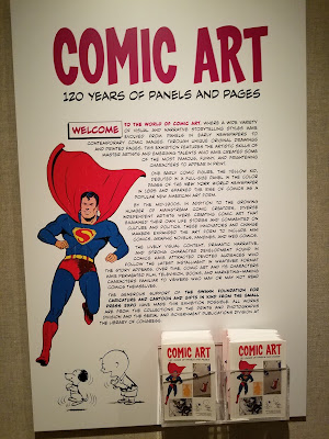 Exhibit Review: Comic Art: 120 Years of Panels and Pages